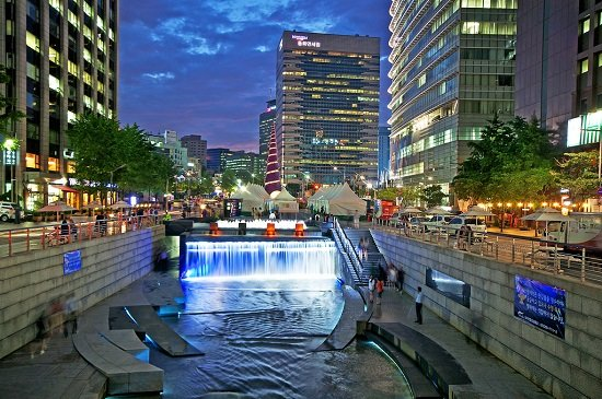 suoi-Cheonggyecheon-VNS TOUR